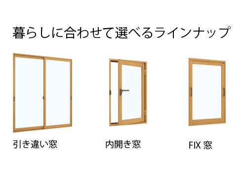 画像:YKK AP プラマードU(単板ガラス)3mm透明ガラス幅1,650×高さ1,200 エコ内窓