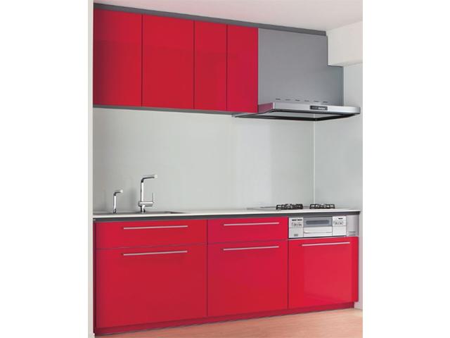 画像:TOTO システムキッチン ミッテマンションリモデル