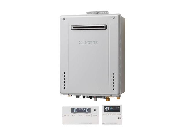 画像:NORITZ ふろ給湯暖房熱源機 マルチリモコンセット